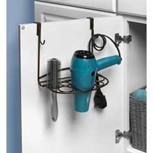 myBella Bronze Over the Cabinet Deluxe Shapes Styling Rack