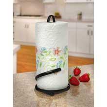 Ashley Black Paper Towel Holder