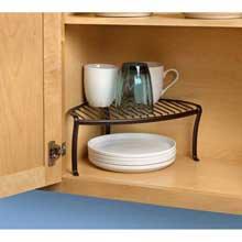 Ashley Bronze Corner Shelf