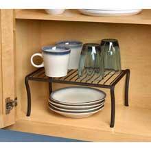 Ashley Bronze Cabinet Shelf