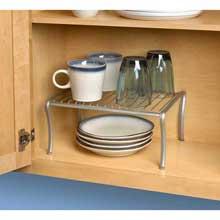 Ashley Satin Nickel PC Cabinet Shelf
