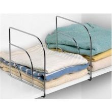 Chrome Small Over the Shelf Dividers