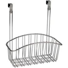 Contempo Chrome Over the Cabinet Medium Basket