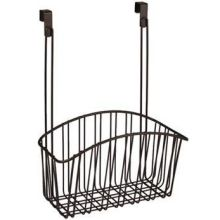 Contempo Bronze Over the Cabinet Large Basket