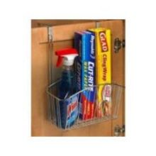 Contempo Chrome Over the Cabinet Large Basket