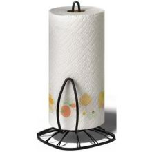 Black Twist Paper Towel Holder
