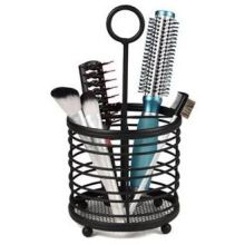 Contempo Black Hair and Beauty Accessory Caddy
