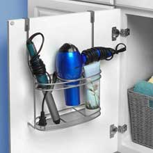 myBella Satin Nickel PC Over the Cabinet Styling Station