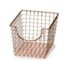 Copper Small Scoop Basket