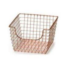 Copper Medium Scoop Basket