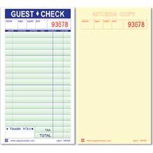 Economy Checks 2 Part Duplicate Paper Padded