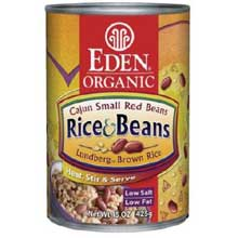 Organic Rice and Beans