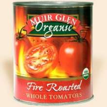 Muir Glen Fire Roasted Whole Tomato 28 Ounce