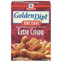 Mccormick Golden Dipt Extra Crispy Chicken Fry Mix