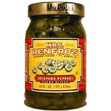 Mrs. Renfro Nacho Sliced Peppers - 16 Oz Pack