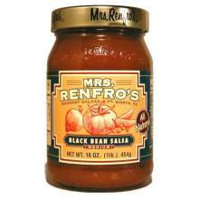 Mrs.Renfro Black Bean Salsa 16 Ounce
