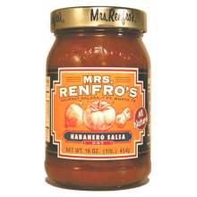 Mrs.RenfroF Habanero Salsa 16 Ounce