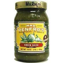 Mrs. Renfro Salsa Green - 16 ounce