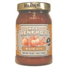 Mrs.Renfro Medium Picante Salsa 16 Ounce