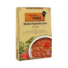 Kitchens of India Mashed Vegetable Curry 10 Ounce