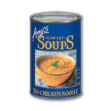 Low Fat No Chicken Noodle Soup