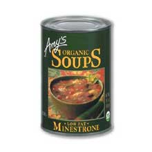Organic Low Fat Minestrone Soup