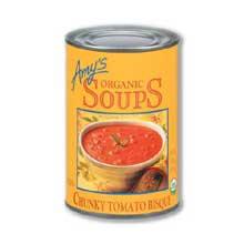 Organic Chunky Tomato Bisque Soup