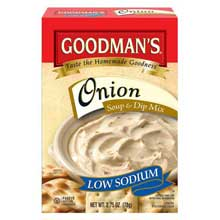 Low Sodium Onion Soup and Dip Mix