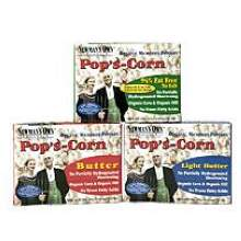 Newmans Own Organic Microwave Popcorn 3 Ounce