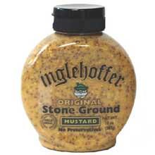 Inglehoffer Stone Ground Mustard in Squeeze Bottle