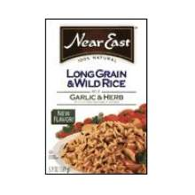 Near East Garlic and Herb Long Grain and Wild Rice 5.9 Ounce