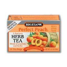 Bigelow Perfect Peach Herbal Tea
