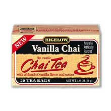 Bigelow Vanilla Chai Flavored Tea