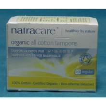 Natracare Organic Regular Non Applicator Tampon