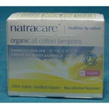Natracare Organic Super Non Applicator Tampon