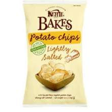 Kettles Lightly Salted Bakes Potato Chips 4 Ounce