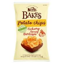 Kettles Hickory Honey Barbeque Bakes Potato Chips 4 Ounce