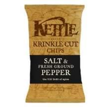 Kettles Salt and Ground Pepper Potato Chips 9 Ounce