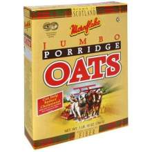Grain Millers Organic Regular Med Rolled Oat 1 Pound