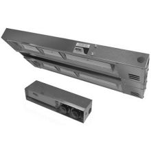 120 Volt and 1000 Watts Double C Radiant Ceramic Standard Wattage Overhead Warmer with Remote Infinite