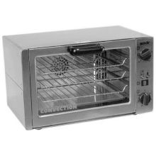 Equipex Tempest Quarter Size Countertop Convection Oven 1PH 22 x 18 1/2 x 13 inch