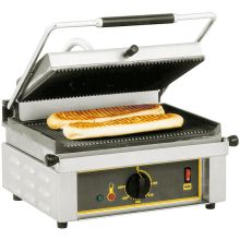 Stainless Steel Base Electric Panini Grill