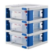 GN Half Size Tower with 3 Airtight Food Container