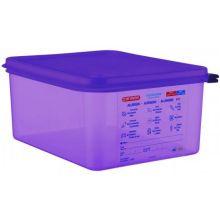 Anti Allergic Polypropylene Purple GN Half Size Airtight Container