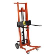 Wesco DPL-40-F Series Hydraulic Fork Model Steel Frame Pedalift 40 inch Lift Height