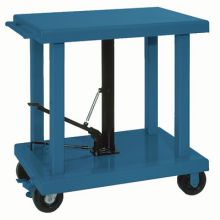 Wesco Medium and Heavy Duty Foot Pump Hydraulic Lift Table 24 x 36 inch Table Size