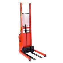 Wesco PESFL-76-25 Series Fork Model Powered Stacker - 15 inch Load Center 76 inch Lift Height