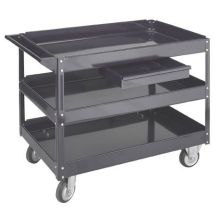 SCDRW Series Optional Drawer Only to Use with Wesco Steel Service Cart 18.5 x 11.75 x 3 inch