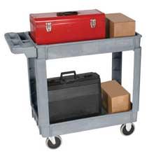 Wesco Plastic Service Cart 24 x 36