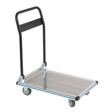 Wesco Aluminum Folding Handle Platform Truck 330 Pound Capacity - 272076